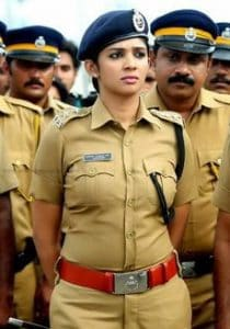 hot indian woman in military uniform