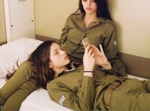 hot military girls on couch
